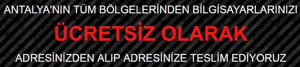 Antalya Teknik Servisi